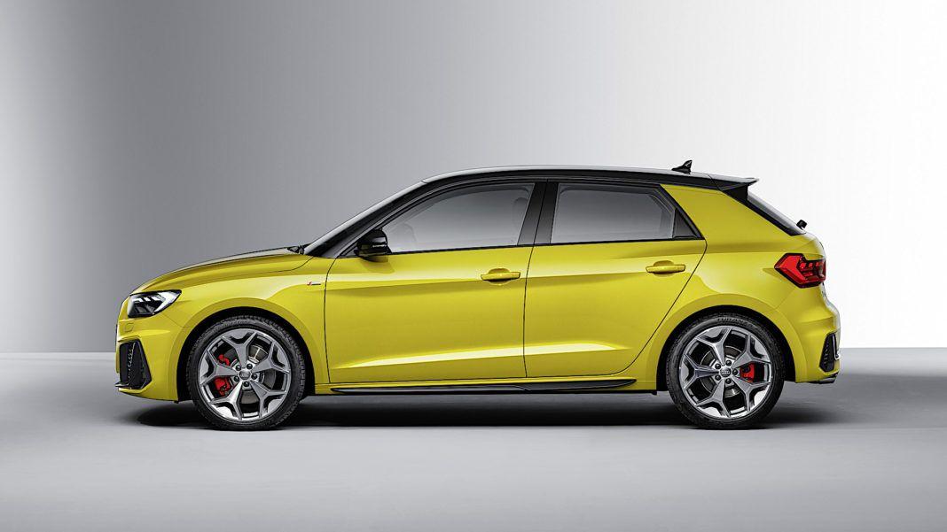 Audi A1 Sportback - bok