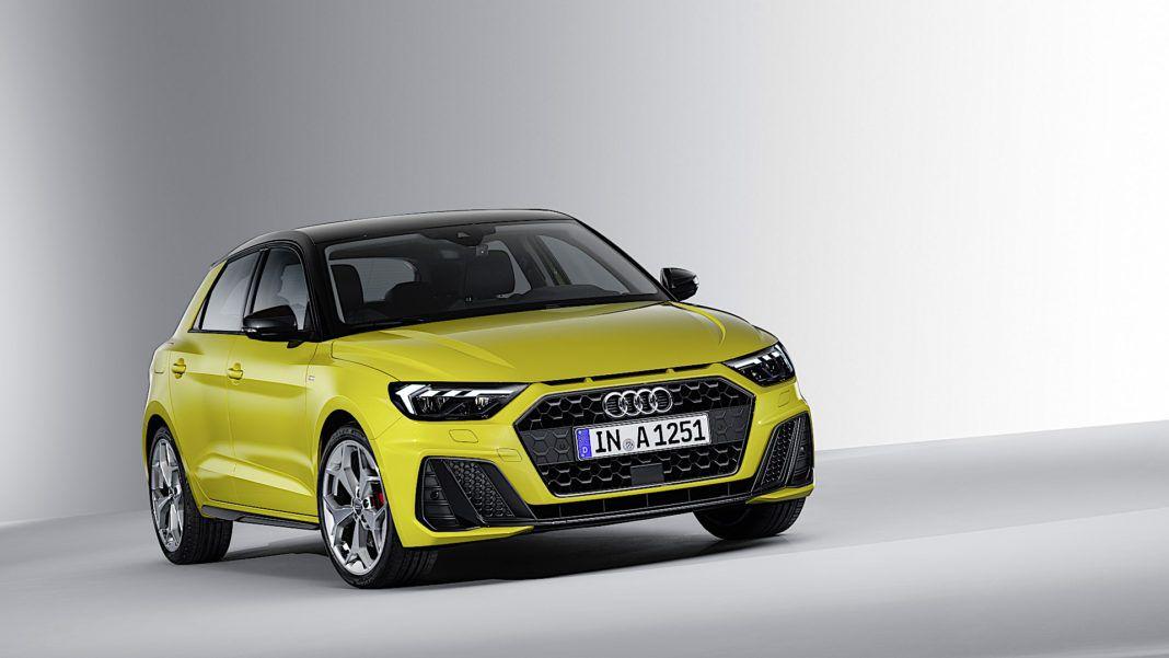 Audi A1 Sportback - przód