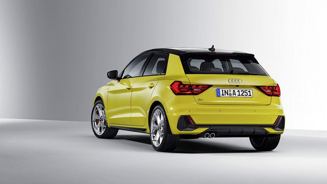Audi A1 Sportback - tył