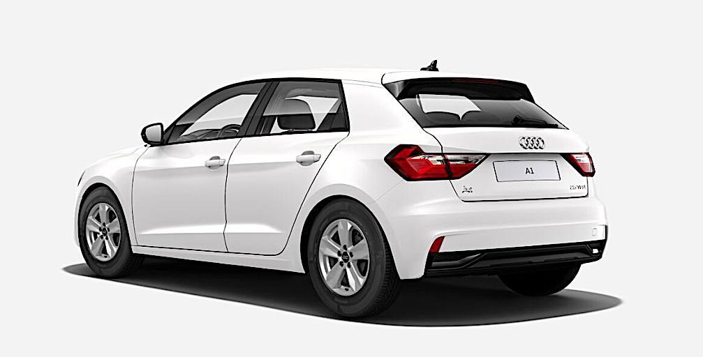 2019 Audi A1 Sportback - tył