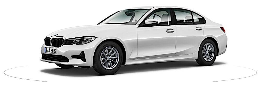 2019 BMW serii 3 - przód