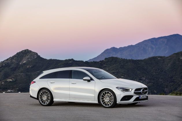 2019 Mercedes-Benz CLA Shooting Brake - bok