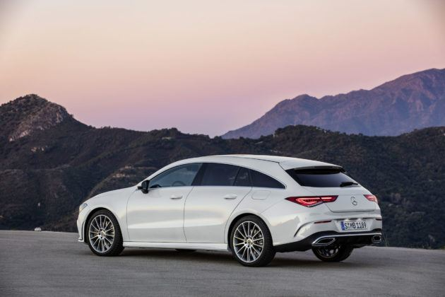 2019 Mercedes-Benz CLA Shooting Brake - tył