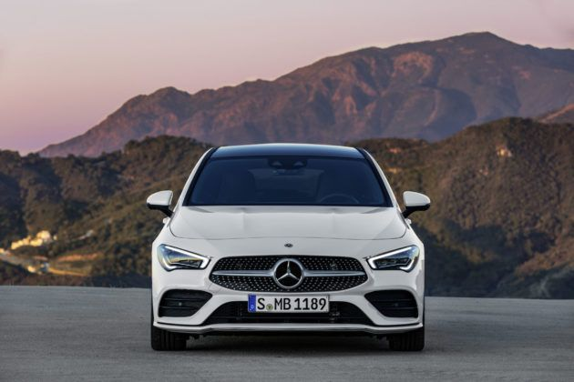 2019 Mercedes-Benz CLA Shooting Brake - przód