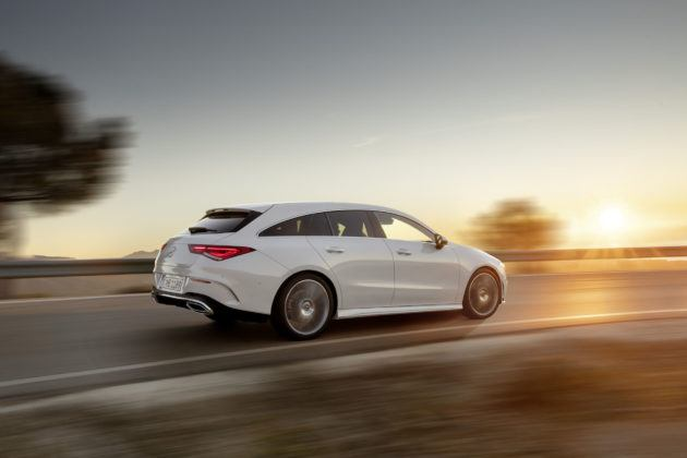 Mercedes-Benz CLA Shooting Brake - tył