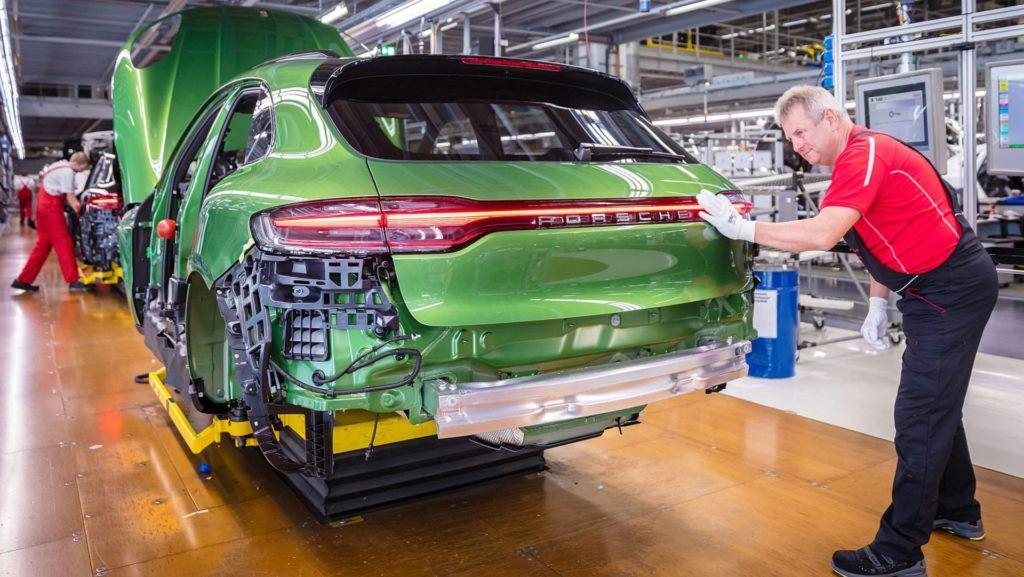Porsche Macan - produkcja