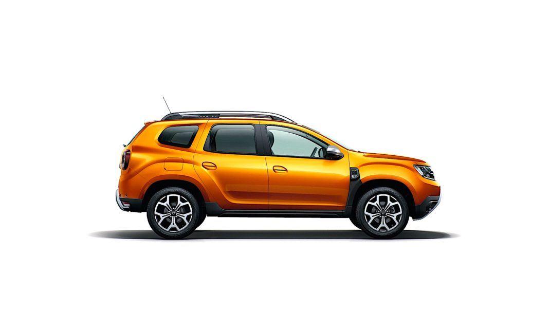 2017 Dacia Duster - bok