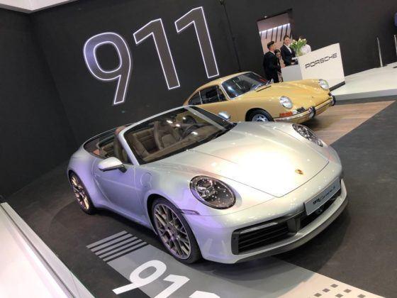 Poznań Motor Show 2019: Porsche 911 Cabriolet (992)