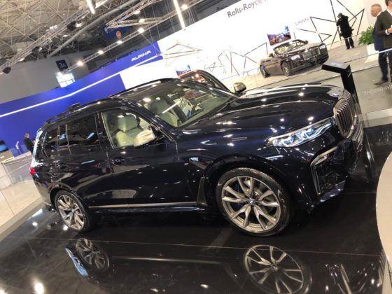 Poznań Motor Show 2019: BMW X7