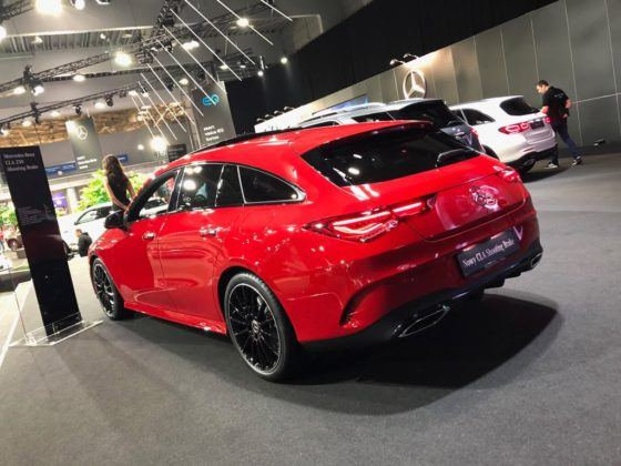 Poznań Motor Show 2019: Mercedes CLA Shooting Brake