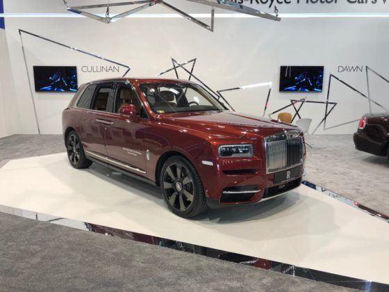Poznań Motor Show 2019: Rolls-Royce Cullinan