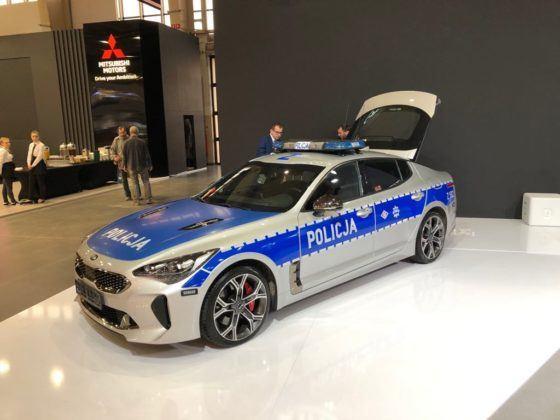Poznań Motor Show 2019: policyjna Kia Stinger