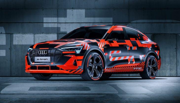 Audi e-tron Sportback prototyp (2019)