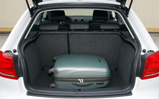 Audi A3 II - bagażnik