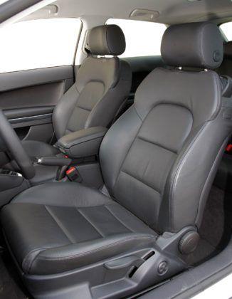 Audi A3 II - fotel kierowcy