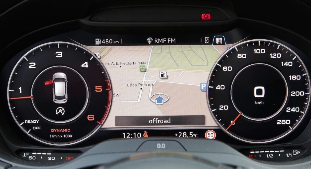Audi A3 Sportback - zegary
