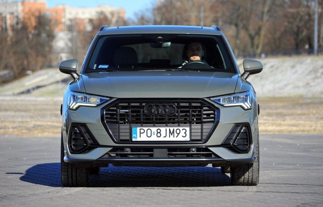 Audi Q3 45 TFSI - przód