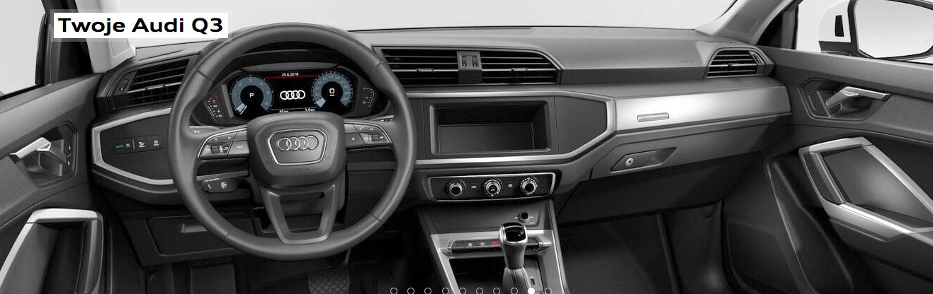Audi Q3 - kokpit