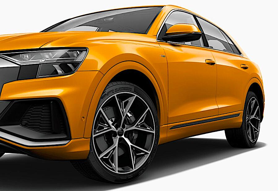 Audi Q8 – koło