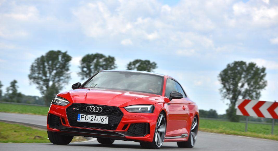 Audi RS 5 Coupe - przód