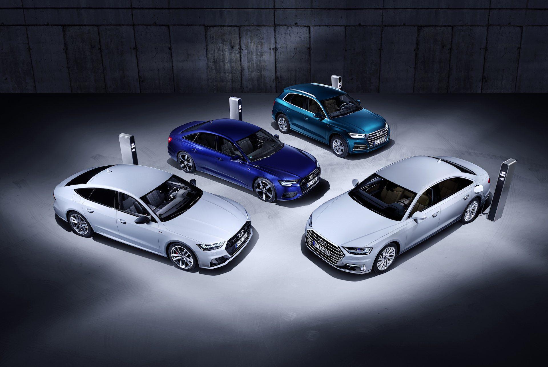 Audi Q5, A6, A7 i A8 plug-in