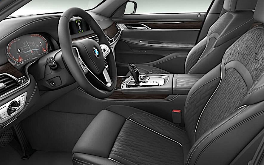 BMW 730d (2019) - wnętrze