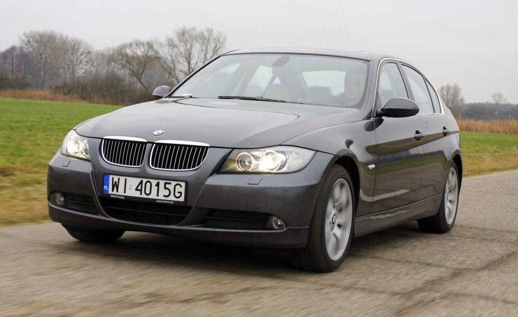 BMW serii 3 E90 - dynamiczne (5)