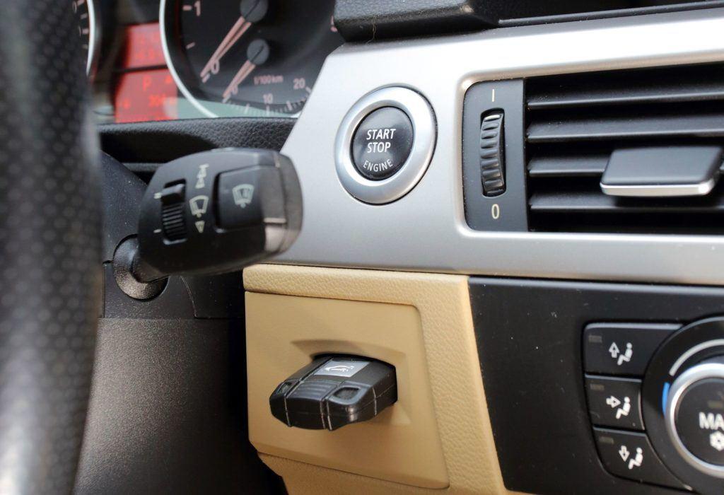 BMW serii 3 E90 - kluczyk