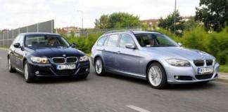 BMW serii 3 E90 - otwierające