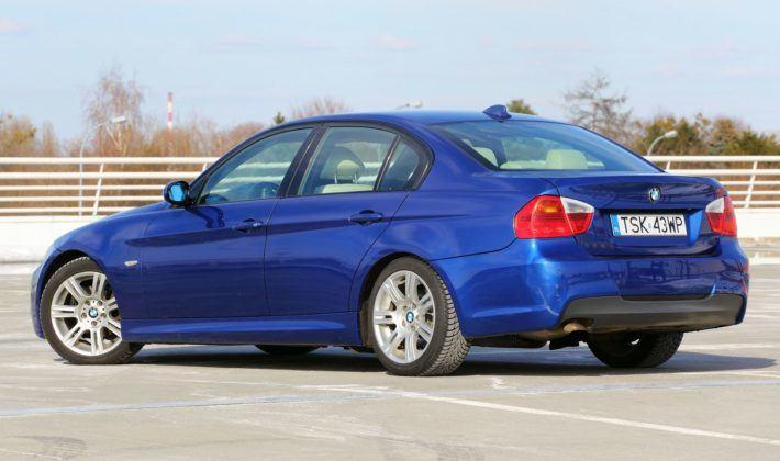 BMW serii 3 E90 - tył