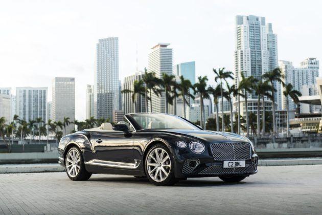 Bentley Continental GT V8 Cabriolet - przód