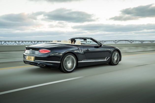 Bentley Continental GT V8 Cabriolet - tył