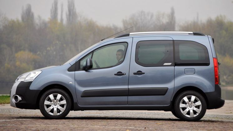 CITROEN Berlingo II XTR 1.6HDi 5MT WW1658S 11-2008