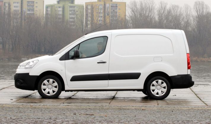 CITROEN Berlingo II Van 1.6HDi 5MT WW6156S 02-2009