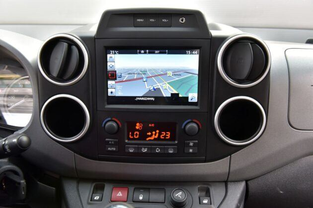 Citroen Berlingo II - multimedia