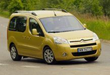 CITROEN Berlingo II Multispace 1.6HDi 5MT 7-os WW9677S 05-2009