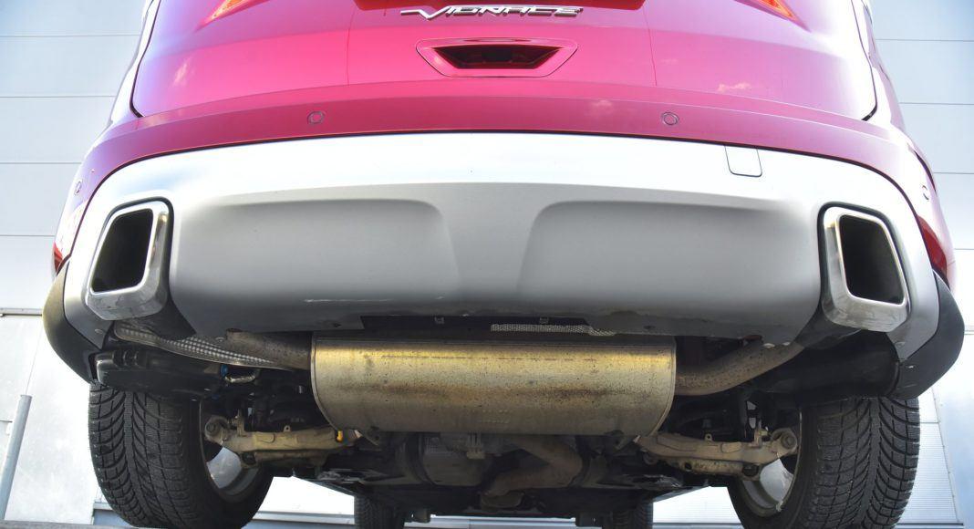Ford Edge układ wydechowy
