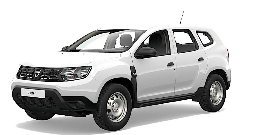 2017 Dacia Duster - przód