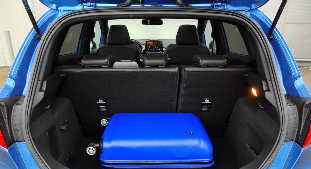 Ford Fiesta VII ST - bagażnik