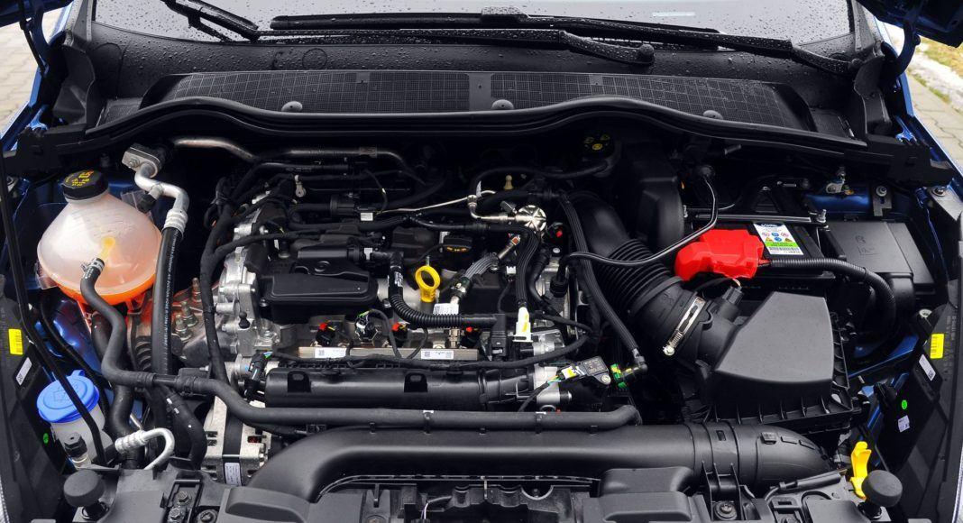 Ford Fiesta VII ST - silnik