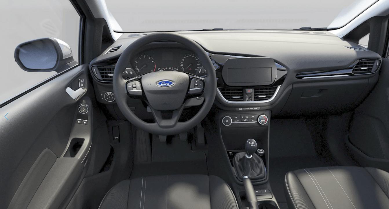 Ford Fiesta - kokpit