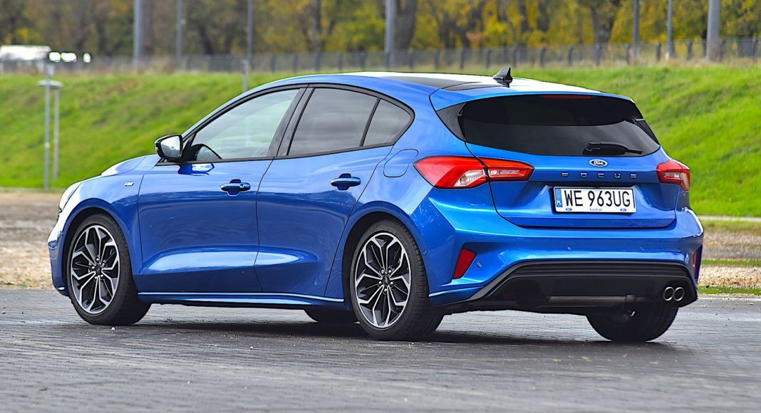 2019 Ford Focus - tył