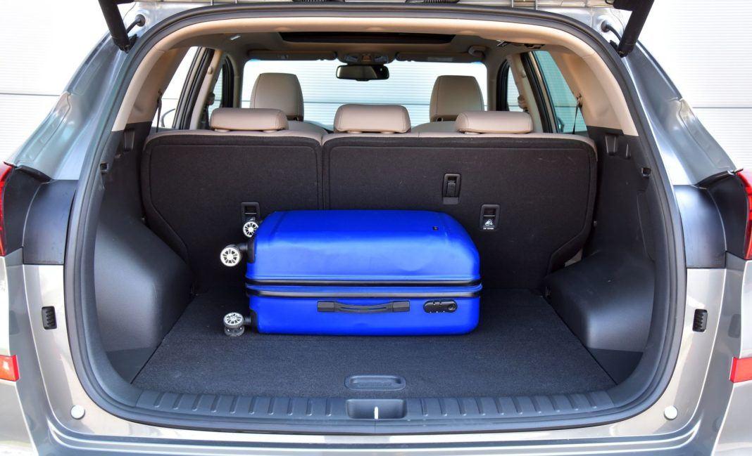 Hyundai Tucson 1.6 T-GDI - bagażnik