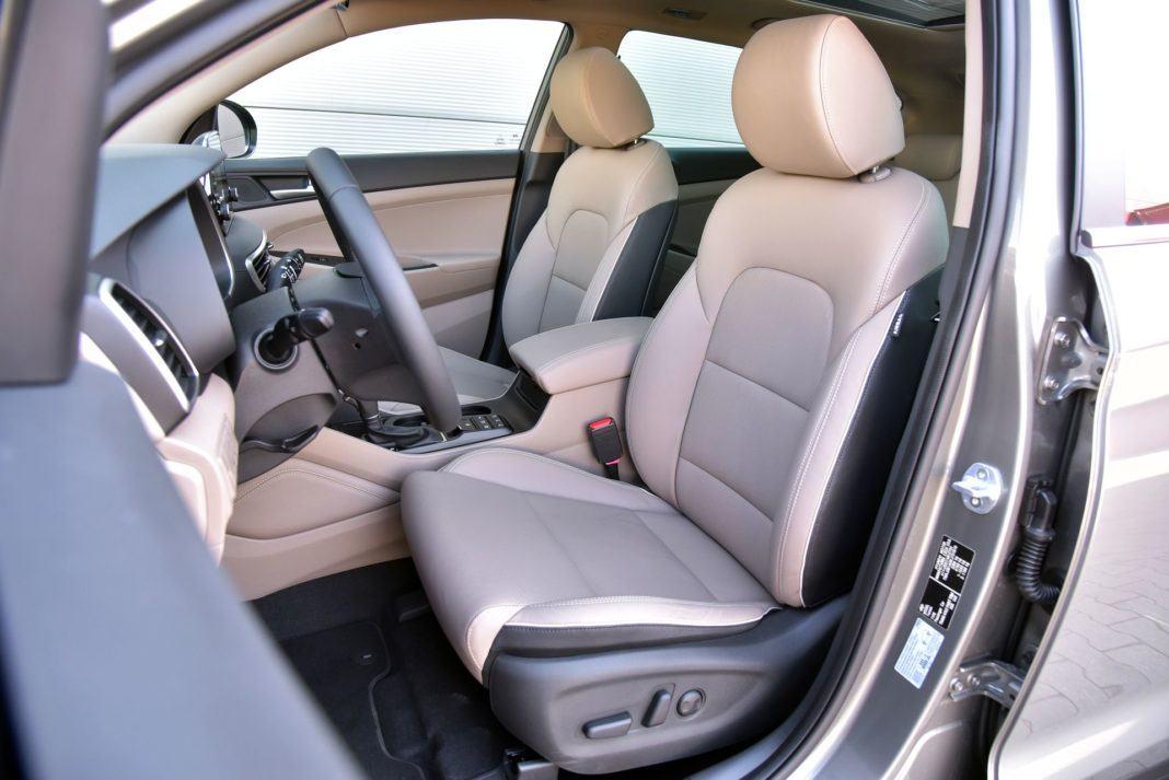 Hyundai Tucson 1.6 T-GDI - fotel kierowcy