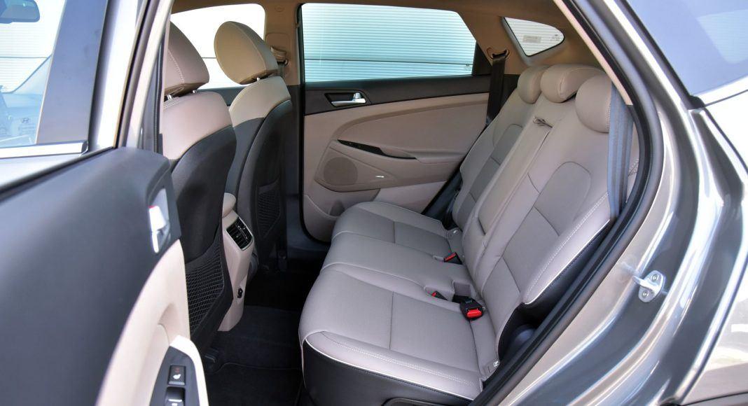 Hyundai Tucson 1.6 T-GDI - kanapa