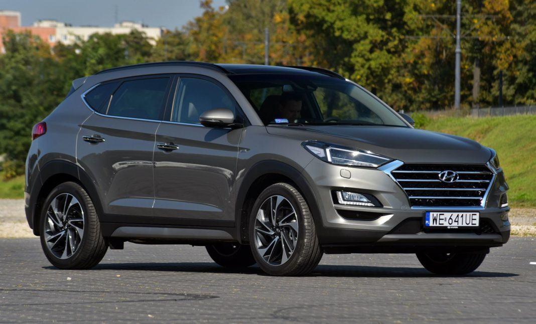 Hyundai Tucson 1.6 T-GDI - przód
