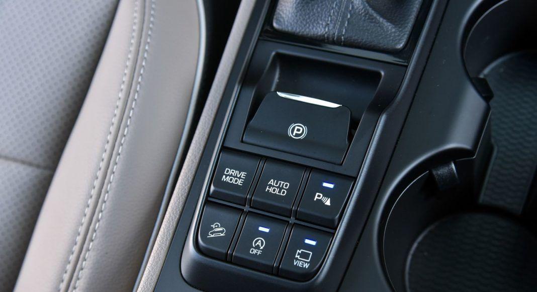 Hyundai Tucson 1.6 T-GDI - przyciski