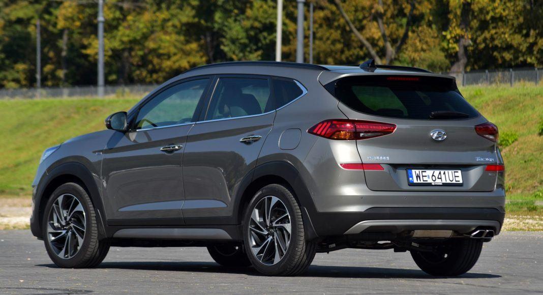 Hyundai Tucson 1.6 T-GDI - tył