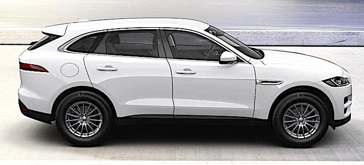 Jaguar F-Pace - bok