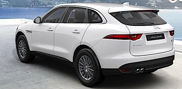 Jaguar F-Pace - tył